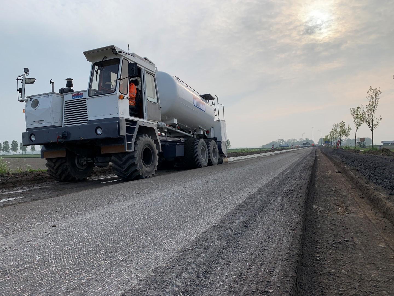 Wegverbreding Noorderringweg – Provincie Flevoland